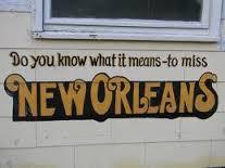 Homesick for New Orleans
